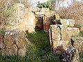 Etruscan tomb Cuccumella - Marturanum Natural Park Italy.jpg