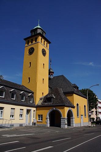Frechen - Image: Evangelische Kirche Frechen 2