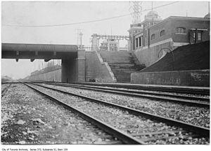 Exhibition GO Station - 1912 Grand Trunk station at the Dufferin Gates