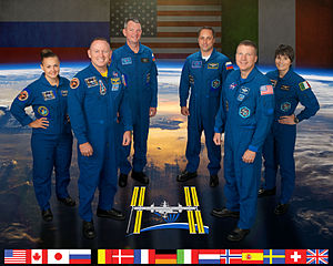 Expedition 42 - Image: Expedition 42 crew portrait