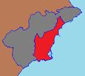 """Extensión del """"Área Metropolitana Murcia - Alicante"""" dentro de ambas provincias.png"""