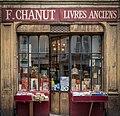 F. Chanut Livres Anciens, 41 Rue Mazarine, Paris 28 February 2015.jpg