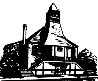 First Baptist Church (Hammond, Indiana) - The church in 1889.