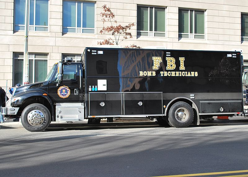 File:FBI Bomb technicians vehicle.jpg
