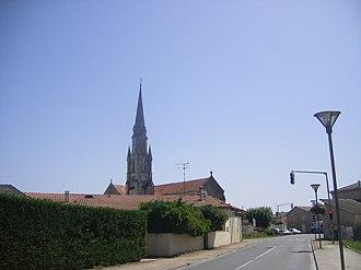 Le Barp - Image: FR 33 Le Barp