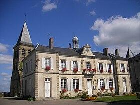 La mairie  de Saint-Révérien