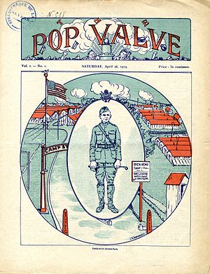 Transportation Corps - The Pop Valve a self-published magazine of the 19th Division while based at Nevers, France in WWI
