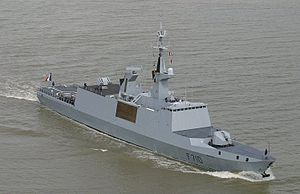French frigate La Fayette