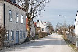 Strandvejen i Fårösund.