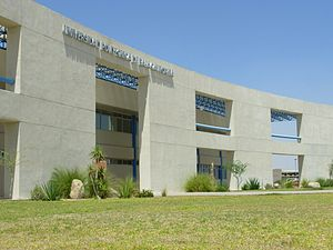 Universidad Politécnica de Baja California - UPBC academic building.