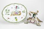 Fajans, borduppsats, 1760 - Hallwylska museet - 90556.tif