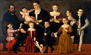 Giovanni Antonio Fasolo - Portrait of the Valmarana Family