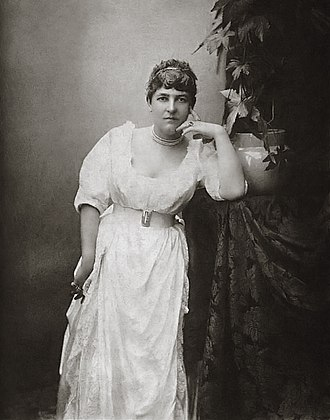 Fanny Stevenson - Portrait of Fanny Stevenson. Bournemouth, 1885