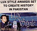Faraz speaking at the first Lux Style Awards press conference - Pakistan's premier awards show.jpg