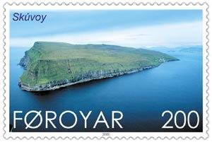 Skúvoy - Image: Faroe stamp 373 skuvoy