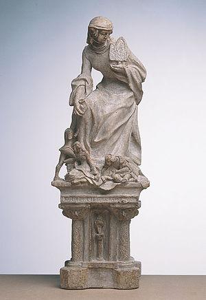 Clémence Isaure - Image: Fauveau Clémence Isaure (49 17 1)