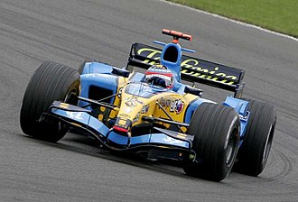 2005 British Grand Prix - Fernando Alonso took pole position, but had to give best to Montoya in the race.