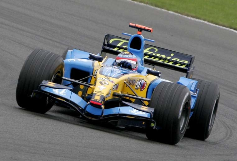 Fernando Alonso 2005 Britain