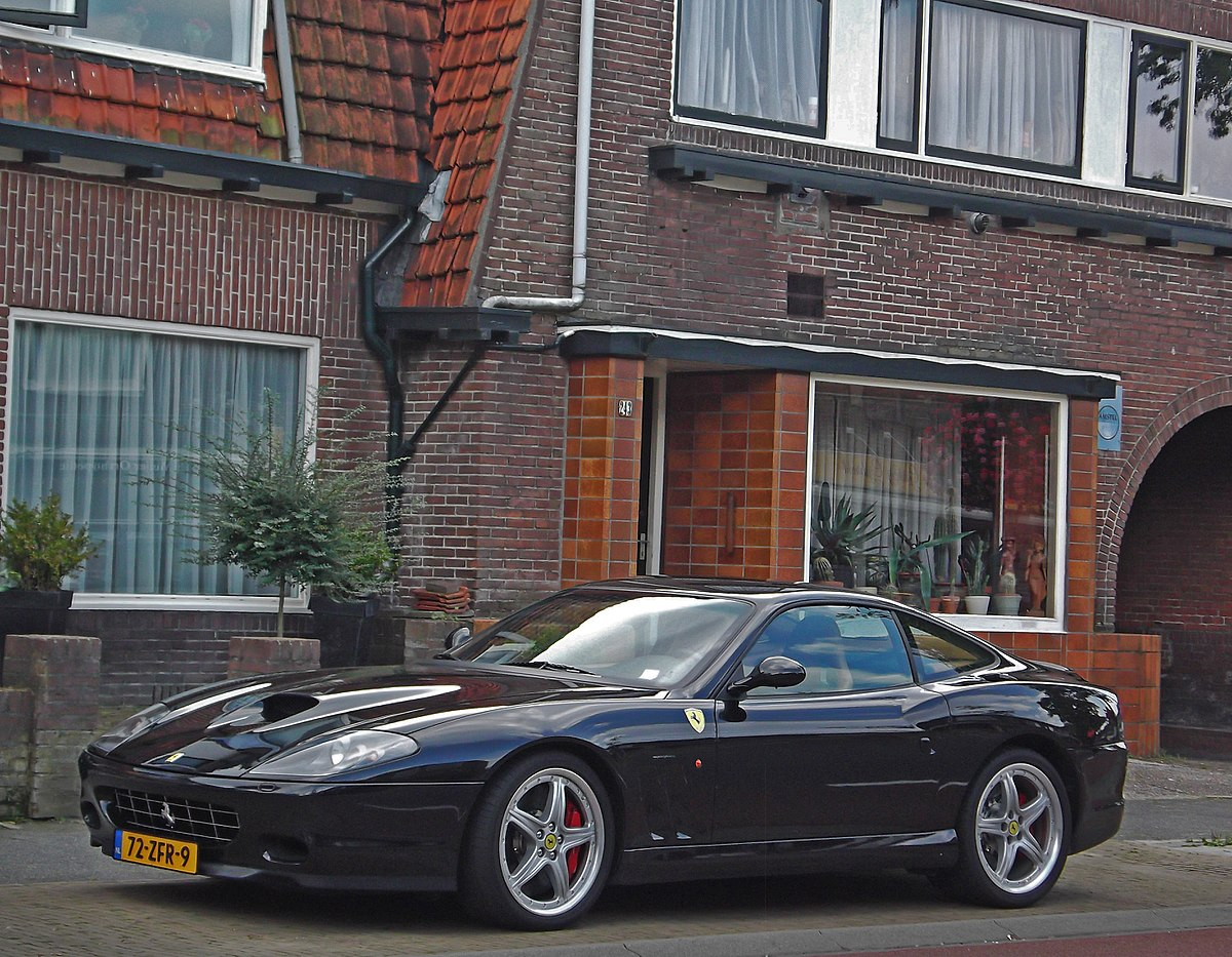 6 Speed Transmission >> Ferrari 575M Maranello - Wikipedia
