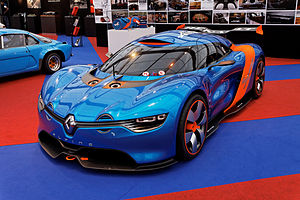 Alpine A110-50 - Image: Festival automobile international 2013 Concept Renault Alpine A110 50 003
