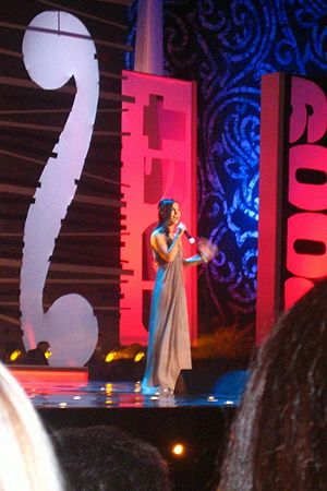 Albania in the Eurovision Song Contest 2010 - Performance of Anjeza Shahini