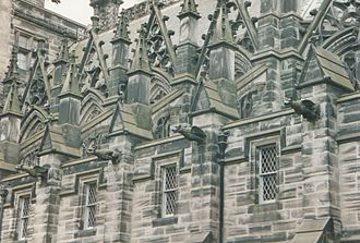Fettes College - College Chapel architecture by David Bryce