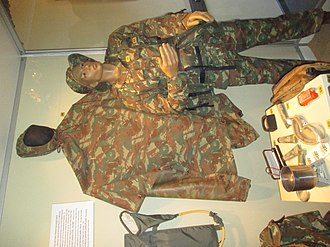 32 Battalion (South Africa) - 32 Battalion uniforms. Members of the unit often impersonated Angolan security forces.
