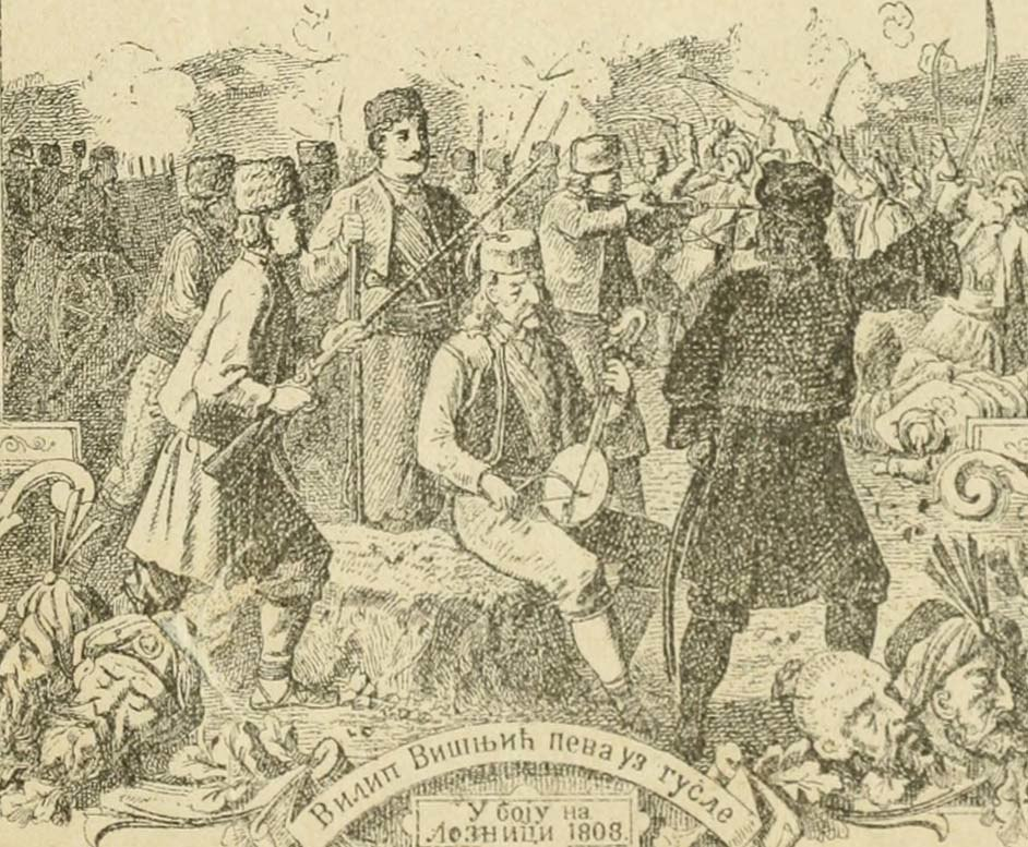 Filip Višnjić at the Battle of Loznica
