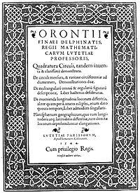 Finé, Oronce – Quadratura circuli, 1544 – BEIC 99133.jpg