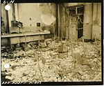 Fire-damaged chemical lab, Hiroshima University of Literature and Science.jpg