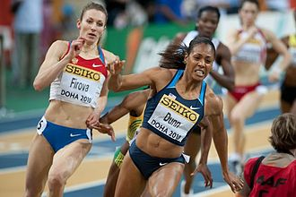 2007 NACAC Championships in Athletics - Debbie Dunn won 400 m individual and relay golds for the United States.