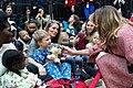 First Lady Melania Trump Visits Children's National Hospital (46262554522).jpg