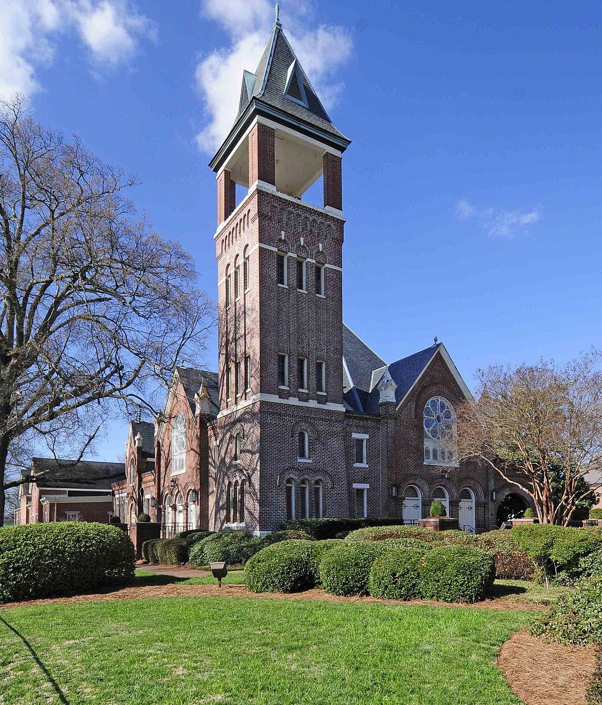 First Presbyterian Church Rock Hill South Carolina