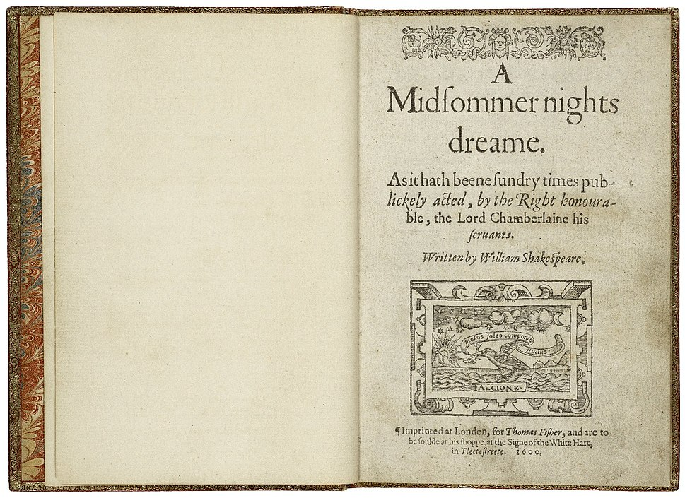 First Quarto Printing of A Midsummer Night%27s Dream.jpg