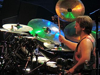 Jon Fishman - Jon Fishman performs with Phish at Madison Square Garden on December 3, 2009.