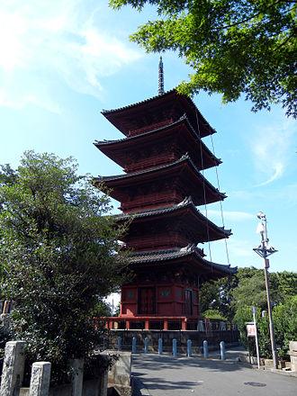 Ikegami Honmon-ji - Five-story Pagoda of Ikegami Honmon-ji Temple