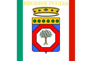 Flag of the Apulia region of Italy.