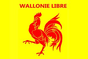 Wallonie Libre - The banner of Wallonie Libre, based on the flag of Wallonia