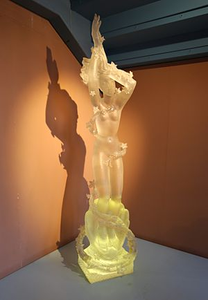 Arthur Fleischmann - Birth of Aphrodite sculpted by Fleischmann in 1955