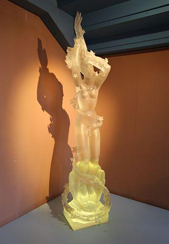 Arthur Fleischmann - Birth of Aphrodite sculpted by Fleischmann in 1955