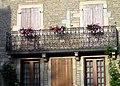 Fleurey-sur-Ouche balcon en fer forgé 2.jpg
