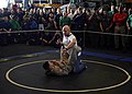 Flickr - Official U.S. Navy Imagery - Ultimate Fighting Championship (UFC) fighter Keith Jardine demonstrates grappling moves during an exhibition in the hangar bay..jpg
