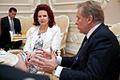 Flickr - Saeima - Solvita Āboltiņa tiekas ar Lietuvas Republikas ārlietu ministru (1).jpg