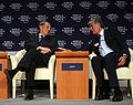 Flickr - World Economic Forum - Cheng Siwei, Maurice Lévy - Annual Meeting of the New Champions Tianjin 2008.jpg