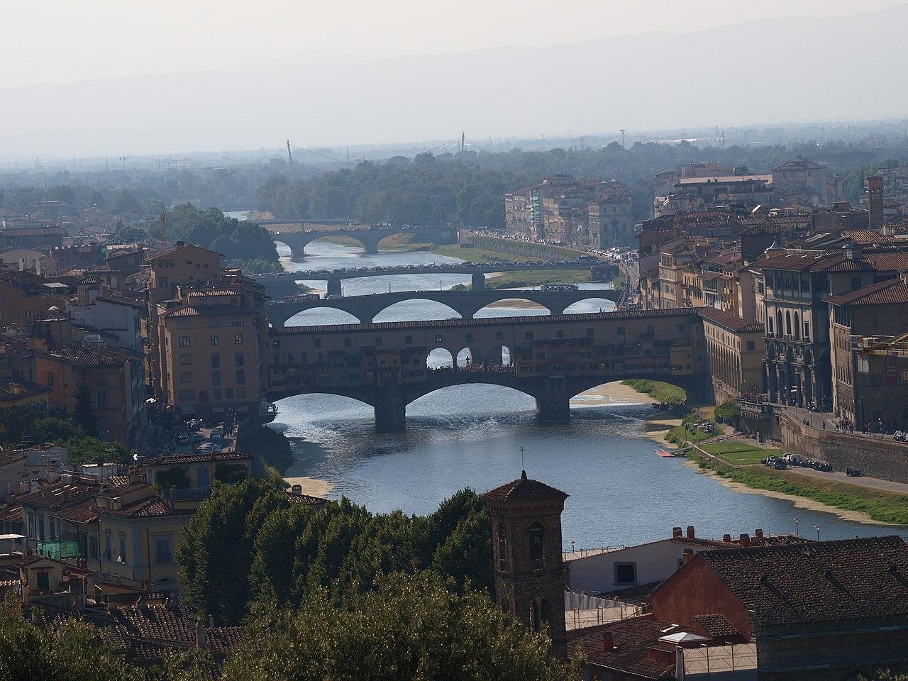 Piazzale Michelangelo [Magnificent View on Ponte Vecchio]