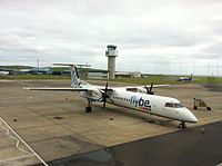 G-JECO - DH8D - Flybe