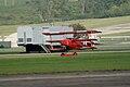 Fokker Dr.I Manfred Richthofen Landing 07 Dawn Patrol NMUSAF 26Sept09 (14599914765).jpg