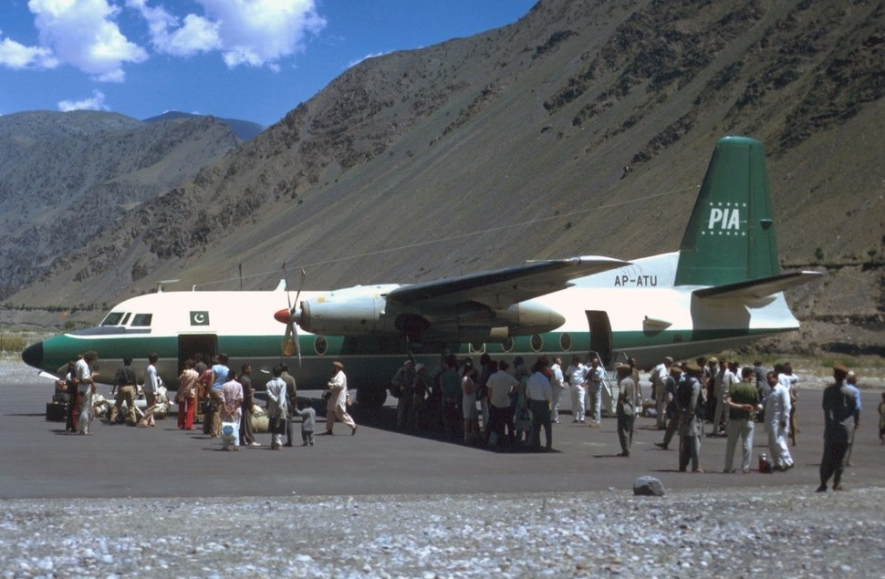 Fokker F27-200 Friendship, Pakistan International Airlines (PIA) JP12491