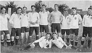 Football team of VfB Stuttgart in 1912