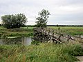 Footbridge ovet the Aland. Pollitz, Sachsen-Anhalt, Germany. - panoramio.jpg